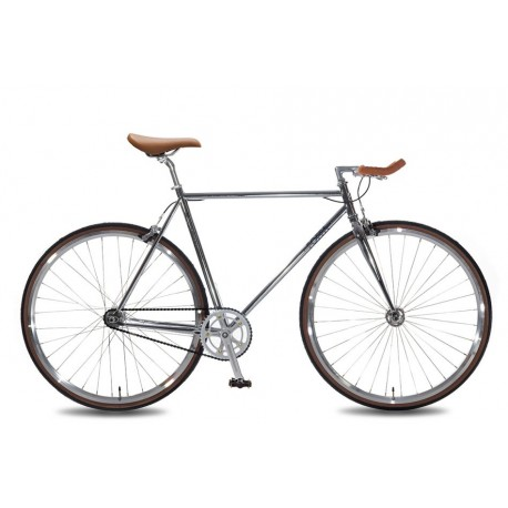 Fixie Single Speed Premium Chrome Foffa