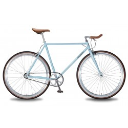 Fixie Single Speed Foffa Bleu
