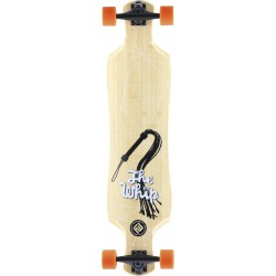"Longskate Flying Wheels Whip 39""5"