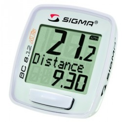 Compteur Sigma BC 08.12 ATS blanc - western flyer