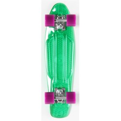 "Skateboard Cruiser Retro Plastic Transparent 22"" Vert Prohibition"